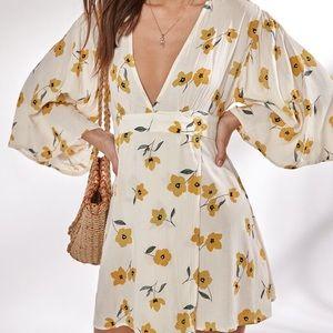 Billabong Wrap Kimono dress